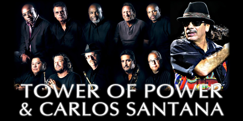 Tower Of Power with Santana (Live Video)