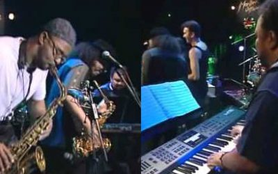 "Kenny Garrett, Kirk Whalum, Boney James, Rick Braun, Larry Carlton, George Duke ""Always There"" (Live Video)"