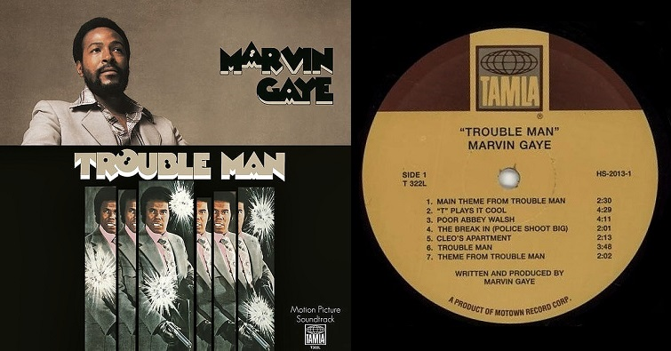 "Marvin Gaye ""Trouble Man"""