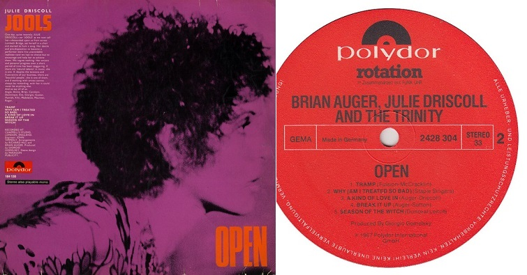"Brian Auger, Julie Driscoll & The Trinity ""In and Out"""