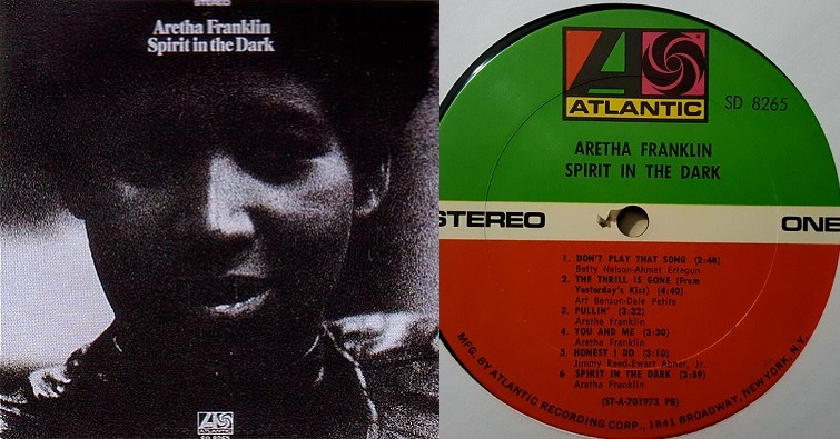 "Aretha Franklin ""The Thrill Is Gone"""