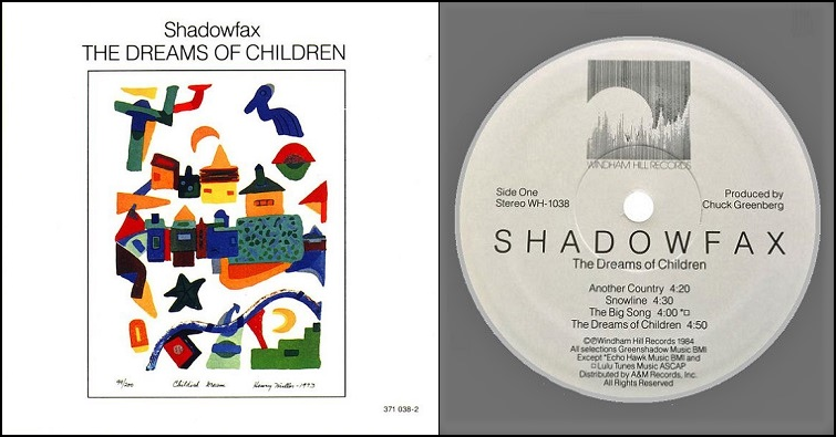 "Shadowfax ""Kindred Spirits"""